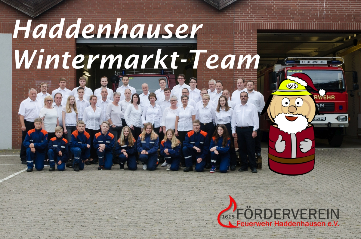 Haddenhauser Wintermarkt-Team (2017)