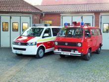 Altes- und neues Fahrzeug